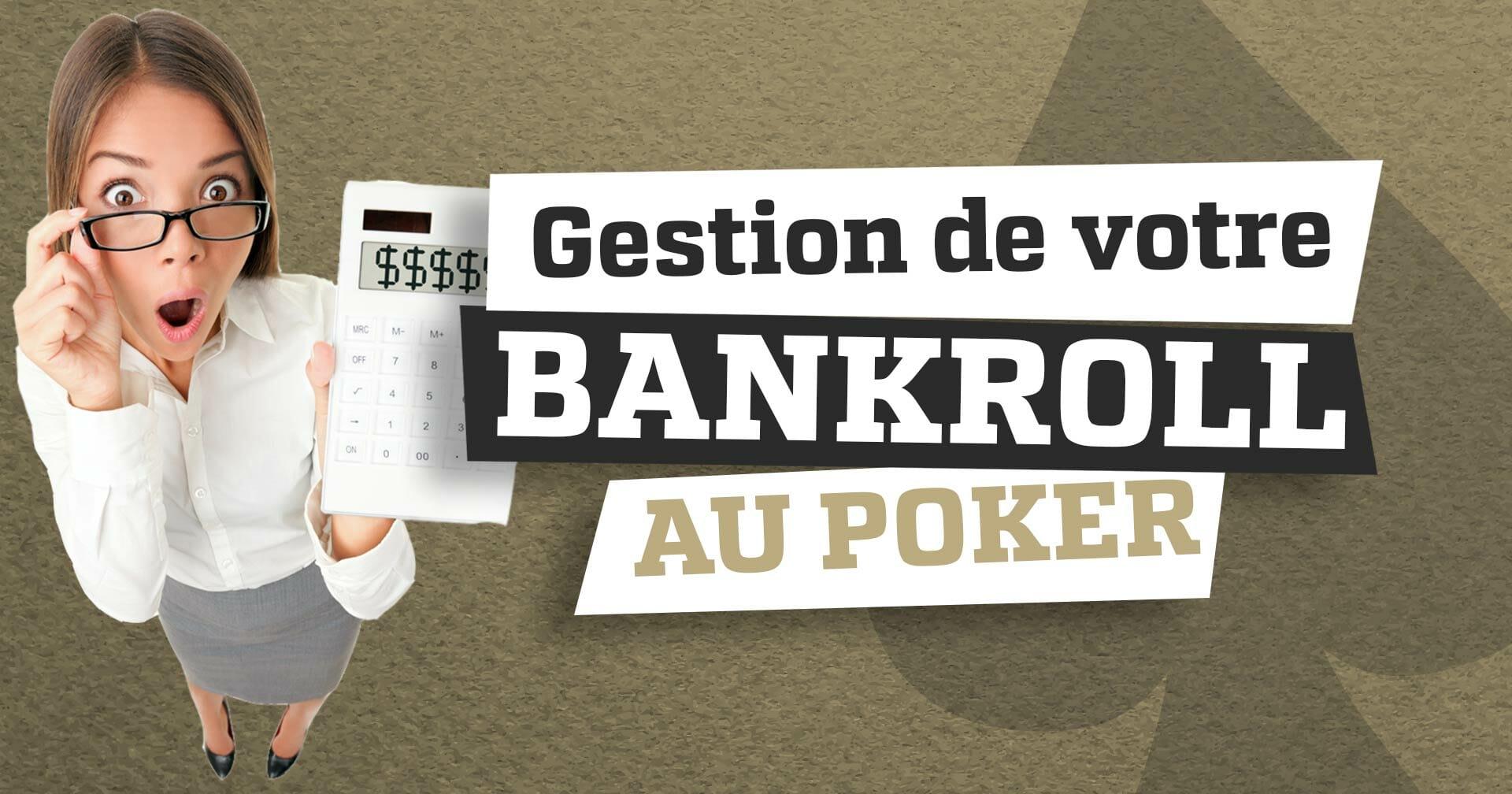 poker gestion bankroll
