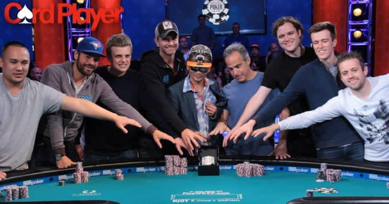 Qui sont les November Nine des WSOP 2016?