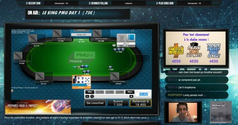 Immersion dans le monde des poker streamers