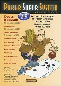 livre poker super system doyle brunson