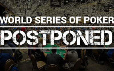 Les World Series of Poker 2020 sont reportés