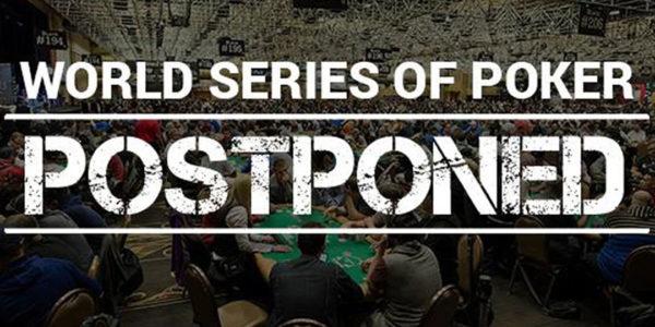 Les World Series of Poker 2020 sont reportés