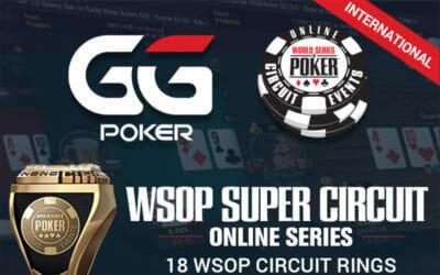 Les WSOP et GGPoker annoncent les WSOP Super Circuit Online Series en mai