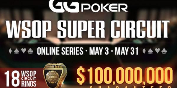 Participez au WSOP Super Circuit Online Series, le plus grand événement de poker en ligne de tous les temps