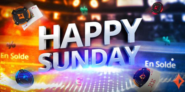 Ce dimanche, c'est Happy Sunday sur PartyPoker