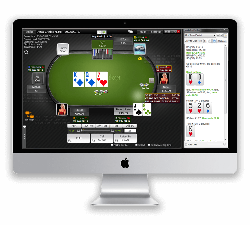 meilleur hud poker mac