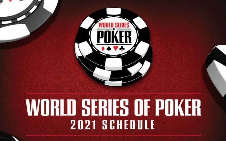 Le programme des WSOP 2021 est dévoilé